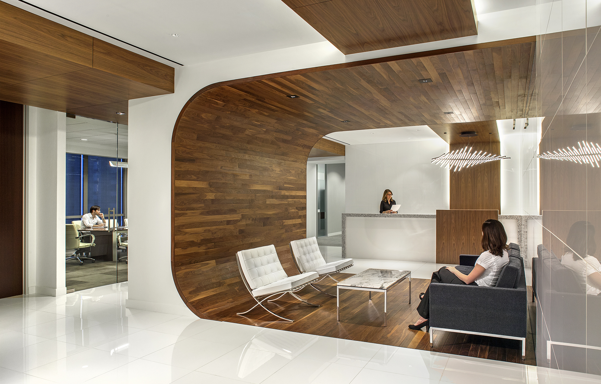 CALDWELL CASSIDY CURRY DALLAS LAW OFFICE DESIGNED BY IA INTERIOR ARCHITECTS